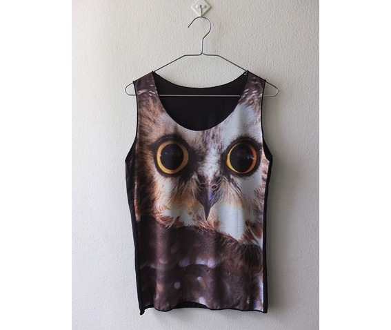owl_bird_animal_fashion_punk_rock_pop_tank_top_vest_m_t_shirts_3.JPG