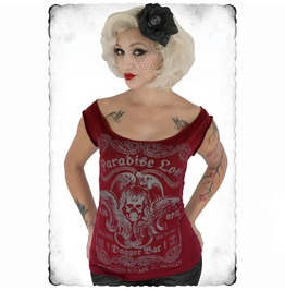 Paradise Lost Women's Shoulder Tee