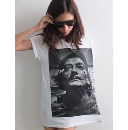 Salvador Dali Mustache Surreal Pop Art Fashion T Shirt M