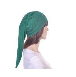 Mens Green Elf Hat Rayon Knit Night Cap Point Long Stocking Cap