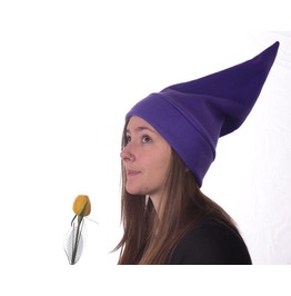 Purple Elf Hat Phrygian Cap Stocking Cap Women Mens Beanie Gnome Hat