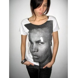 Grace Jones Wave Disco Pop Rock T Shirt Low Cut M