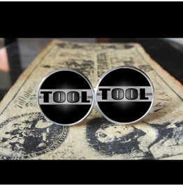 Tool *New* Logo Cuff Links Men, Weddings,Grooms, Groomsmen,Gifts,Dads,Graduations