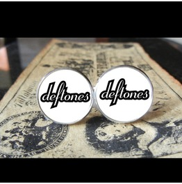 Deftones #1 *New* Logo Cuff Links Men, Weddings,Grooms, Groomsmen,Gifts,Dads,Graduations