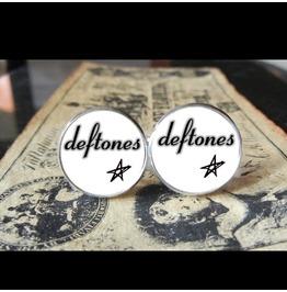 Deftones #2 *New* Logo Cuff Links Men, Weddings,Grooms, Groomsmen,Gifts,Dads,Graduations