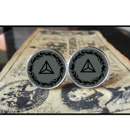Mudvayne Triangle *New* Logo Cuff Links Men, Weddings,Grooms, Groomsmen,Gifts,Dads,Graduations