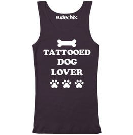 Tattooed Dog Lover Tank