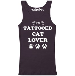 Tattooed Cat Lover Tank