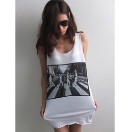 Red Hot Chili Peppers Abbey Road Funk Rock Soul Alternative Tank Top