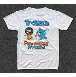 "Limited Edition ""Ty & Jerrom"" Tee Rolling Mouse M/L"