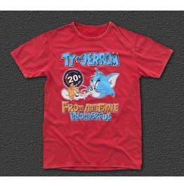 """Ty & Jerrom"" Limited Edition Tee Rolling Mouse M/L"