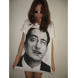 Salvador Dali Mustache Surreal Pop Art T Shirt M