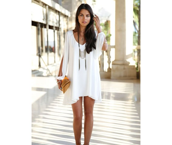 deep_neckline_slit_open_long_sleeves_white_dress_dresses_5.JPG