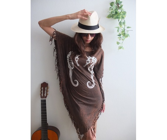 seahorse_animal_new_wave_punk_hippie_batwing_tussle_fringes_stone_wash_poncho_dress_style_dresses_5.jpg