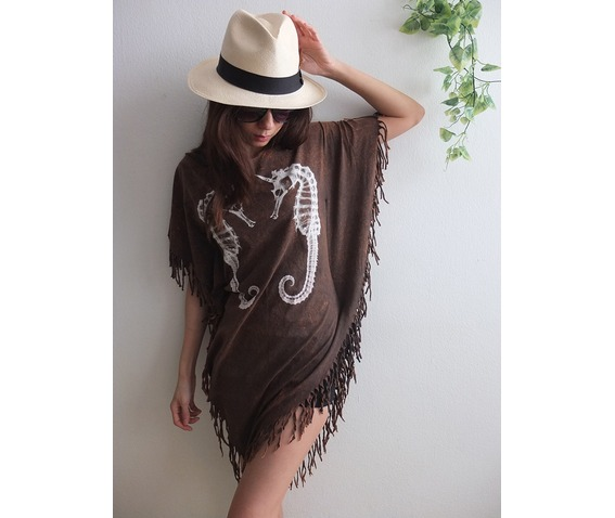 seahorse_animal_new_wave_punk_hippie_batwing_tussle_fringes_stone_wash_poncho_dress_style_dresses_4.jpg