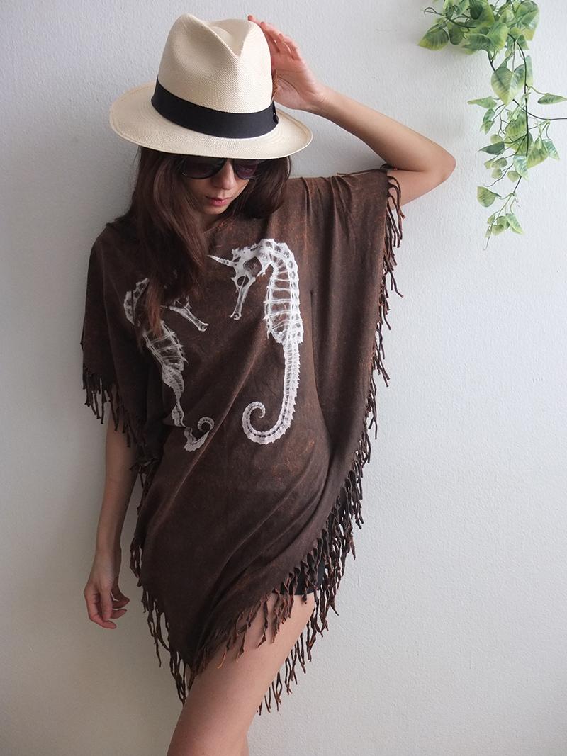 seahorse_animal_new_wave_punk_hippie_batwing_tussle_fringes_stone_wash_poncho_dress_style_dresses_4.jpg