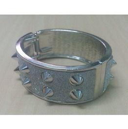 Vintage Cuff Bangle Bracelet Modern Fashion Jewelry Diamond Dust Glitter #8