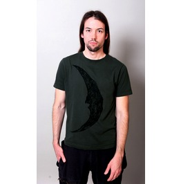 """Crescent Moon"" Men Shirt / Charcoal"