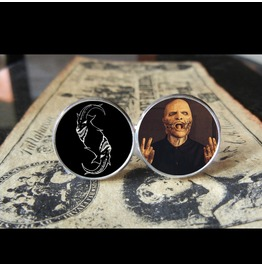 Slipknot Corey Taylor *New Mask* Logo Cuff Links Men, Weddings,Grooms, Groomsmen,Gifts,Dads,Graduations
