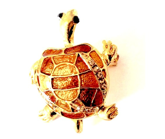 unique_stunning_gold_plated_enamel_turtle_black_gemstone_eyes_brooch_brooches_2.jpg