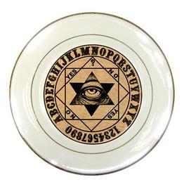 Mystic Eye Ouija Porcelain Plate