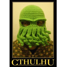 Squid_octopus_balaclava_green_of_2_000_leagues_under_the_sea_fame_free_international_shipping_new_lower_price__hats_and_caps_7