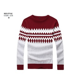 Fashion Round Collar Men Knit Sweater 1439a