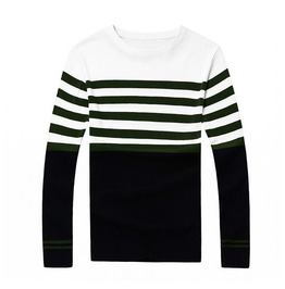 Fashion Round Collar Men Knit Sweater 1441c