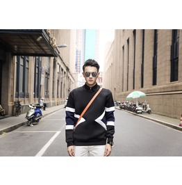 Geometric Style Men Fashion Sweatshirt 1443