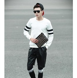 Geometric Style Men Fashion Sweatshirt 1446