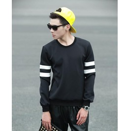 Geometric Style Men Fashion Sweatshirt 1446a