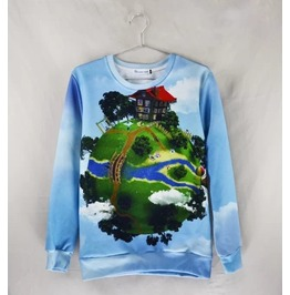 3 D Print Fashion Men Women Couple Sweatshirt 1448 2