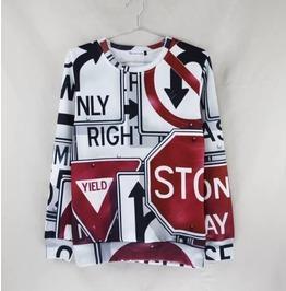 3 D Print Fashion Men Women Couple Sweatshirt 1448 8