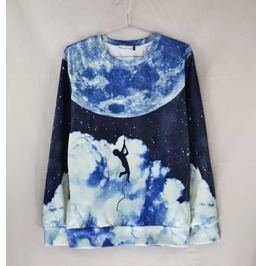 3 D Print Fashion Men Women Couple Sweatshirt 1448 12