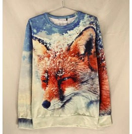 3 D Print Fashion Men Women Couple Sweatshirt 1448 16