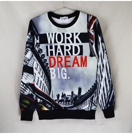 3 D Print Fashion Men Women Couple Sweatshirt 1448 24