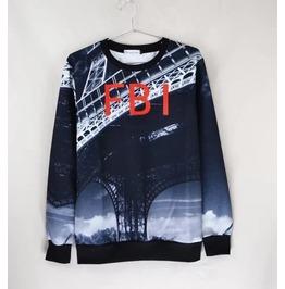 3 D Print Fashion Men Women Couple Sweatshirt 1448 30