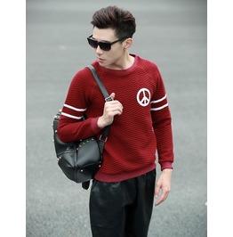 Geometric Style Men Fashion Sweatshirt 1449