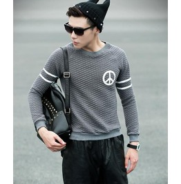 Geometric Style Men Fashion Sweatshirt 1449b
