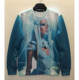 3 D Print Fashion Men Women Couple Sweatshirt 1450