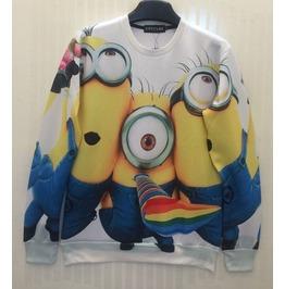 3 D Print Fashion Men Women Couple Sweatshirt 1450 4
