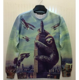 3 D Print Fashion Men Women Couple Sweatshirt 1450 18
