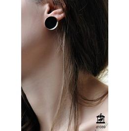 Black Void Earrings