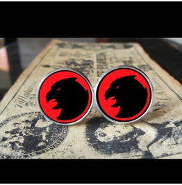 Hawkman Red Logo *New* Cuff Links Men, Weddings,Grooms, Groomsmen,Gifts,Dads,Graduations