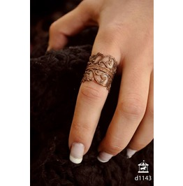 Black Dahlia Ring