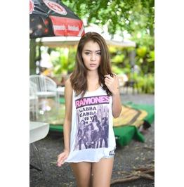 Ramones Gabba Gabba Hey American Punk Rock Band Women Tank Tops Clothing
