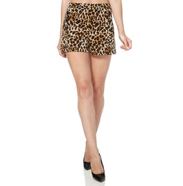 Voodoo Vixen Leopard Print Highwaisted Shorts