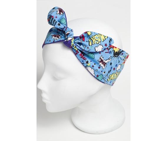 blue_super_hero_smash_bang_pow_scarf_purple_reverse__hats_and_caps_3.jpg