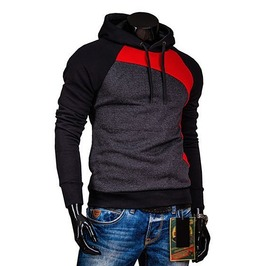 Mens Black Hoody Hood Hoodies Fashion Men Shirt Sweatshirt