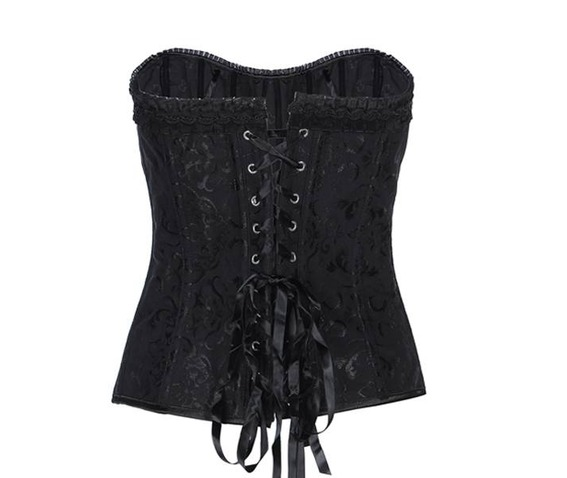 regular_plus_size_black_white_zip_up_lace_up_overbust_corset_bustiers_and_corsets_5.jpg
